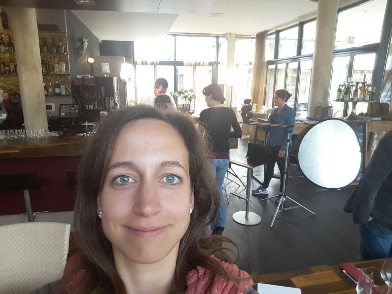 Der Zirkel - Ein Selfie am Set musste sein! ;)