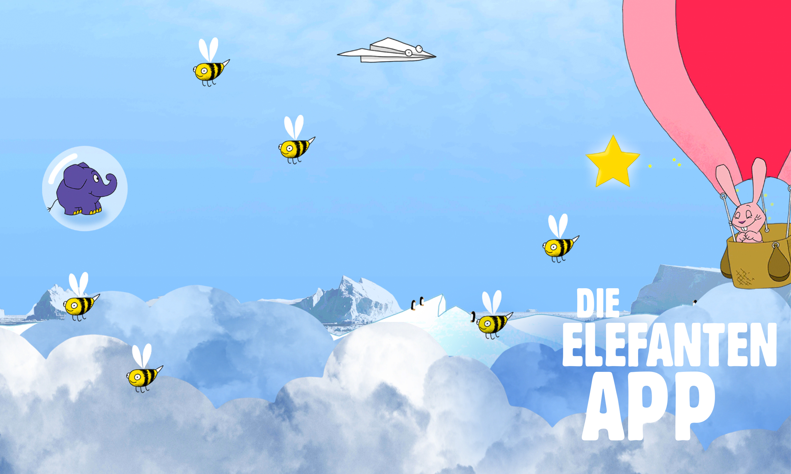 fizbin Elefant Wolkenreise