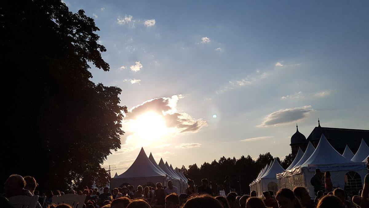 Living in Karlsruhe - Effekte 2019 - Abendhimmel